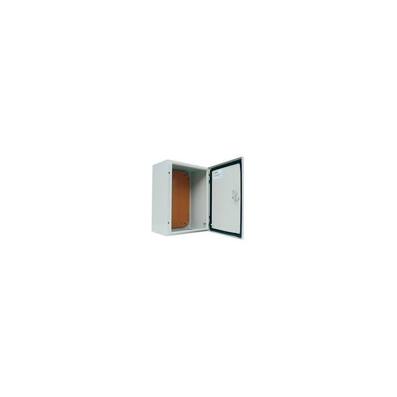 Caja Metalica 400x300x200 mm Ip65 con Placa Montaje-Bm Electric