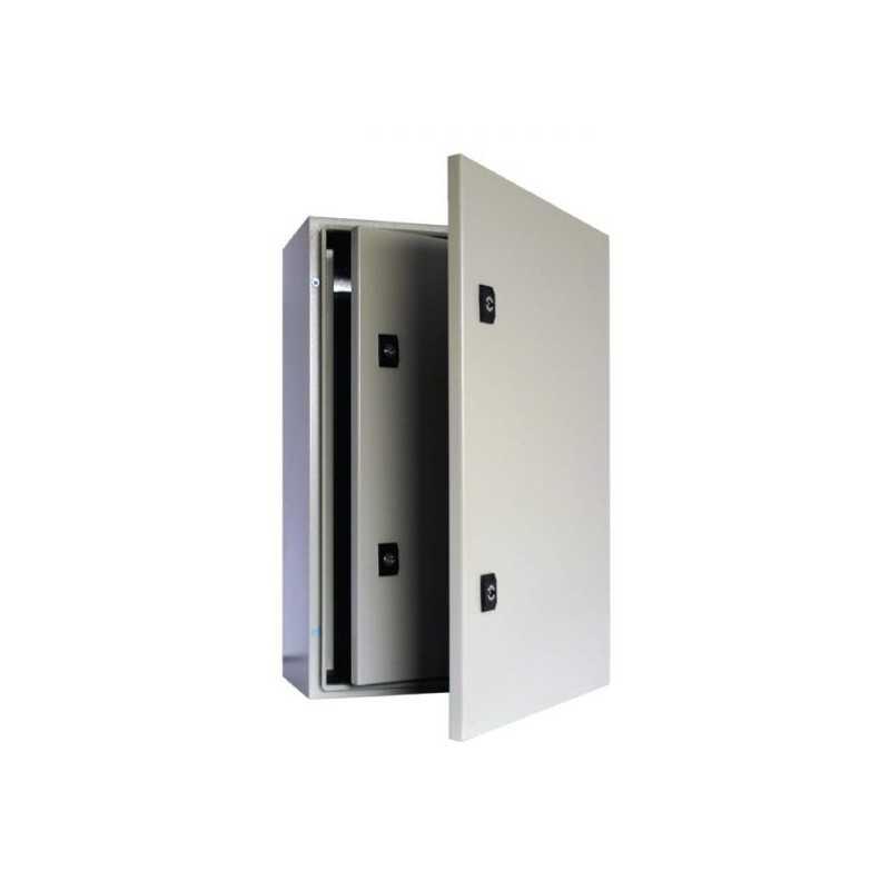 Tablero Metálico 400x300x200 mm Ip65 con Puerta Interior Y Placa De Montaje-Bm Electric
