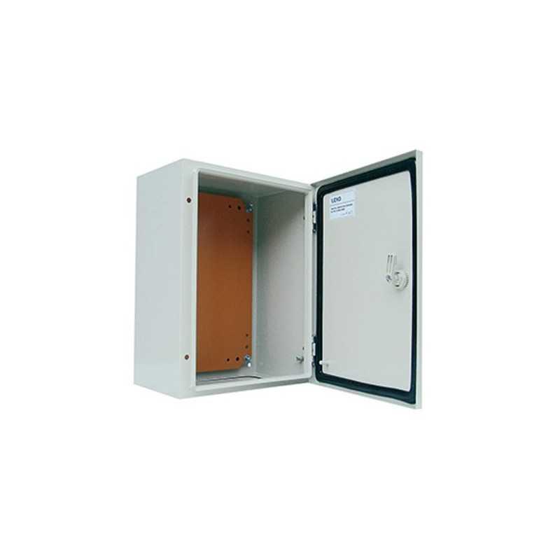 Caja Metalica 600x400x200 mm Ip65 con Placa Montaje-Bm Electric