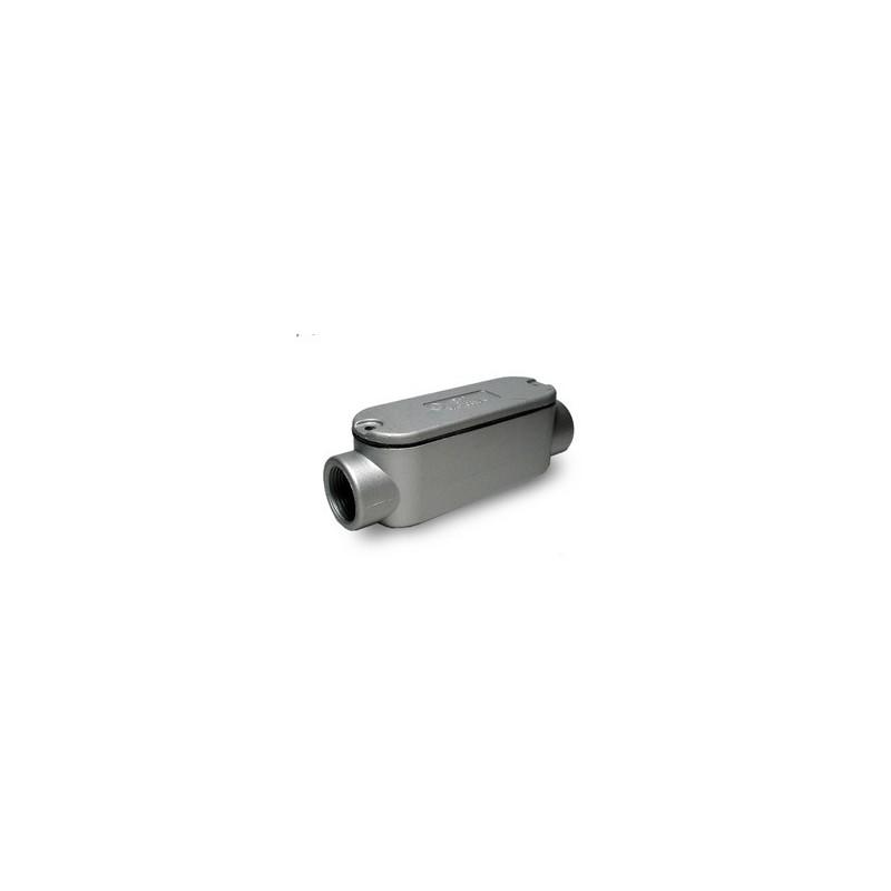 """Condulet C 1/2"""" Aluminio-Bm Electric"""