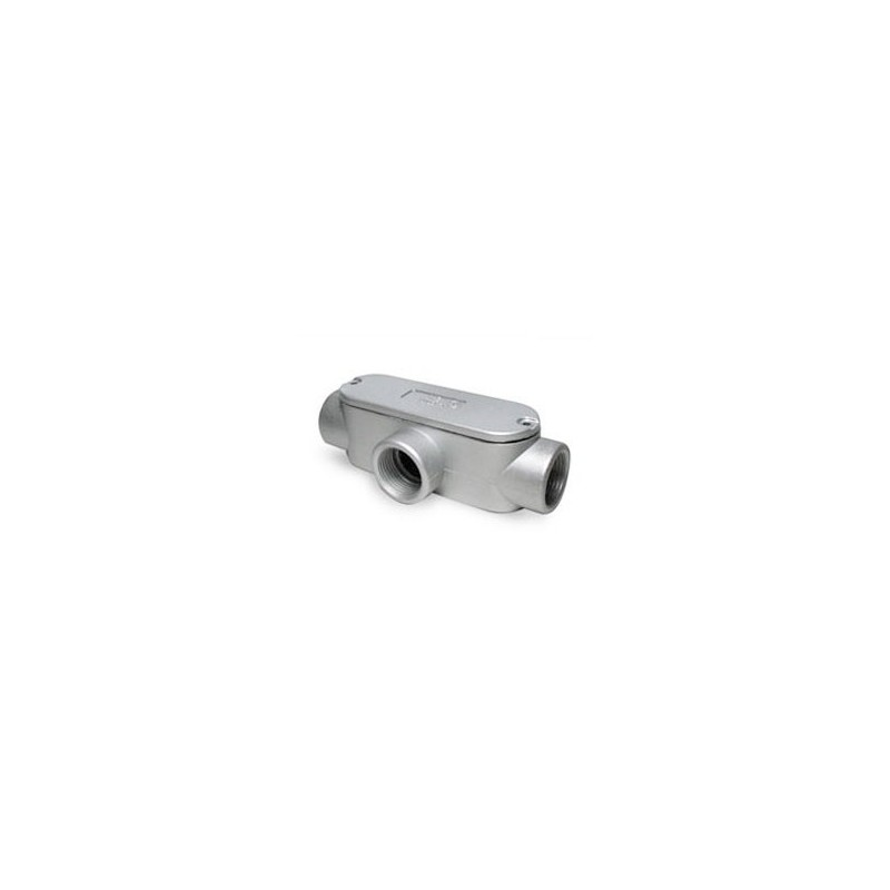 "Condulet T 1/2"" Aluminio-Bm Electric"