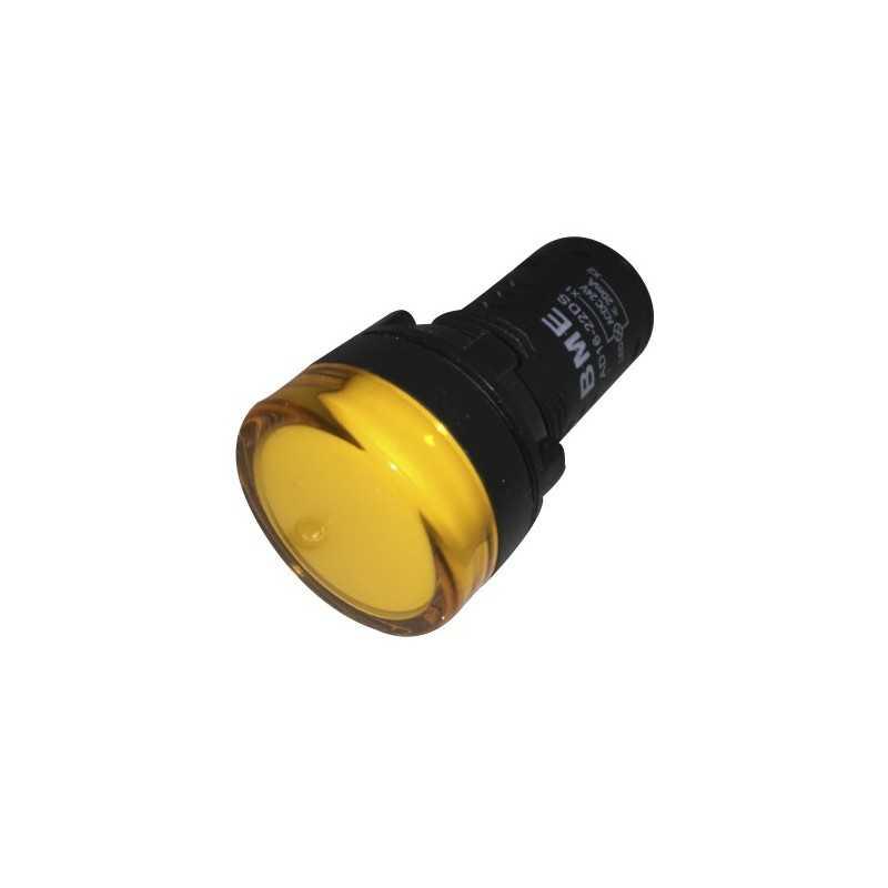Piloto Amarillo 22 mm LED 24VAC/DC - Bm Electric