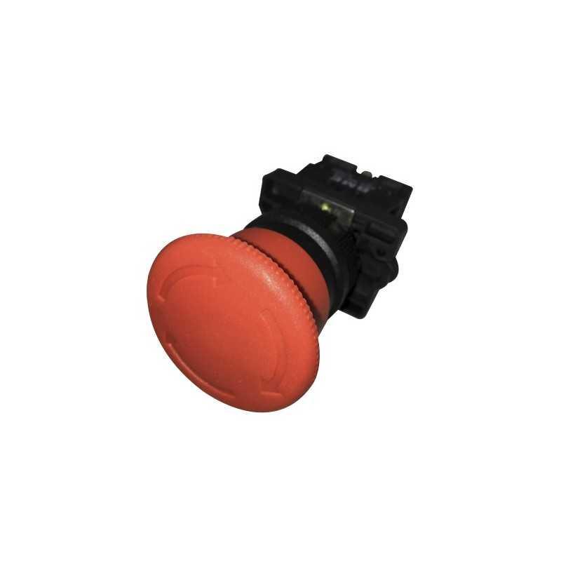 Pulsador Parada De Emergencia 22 mm Rojo 1Nc Girar para Desenclavar-Bm Electric