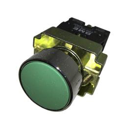 Pulsador Rasante 22 mm Verde 1Na-Bm Electric
