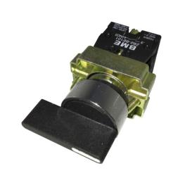 Selector Maneta Larga 3 Posiciones con Retorno 22 mm 2Na-Bm Electric