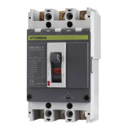 Interruptor Automático 3 Polos 15A 14KA Serie-U Hyundai