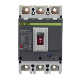 Interruptor Automático 3 Polos 225A Serie-U Hyundai