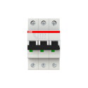 Interruptor Automatico S200 3X6A C 10Ka - Abb