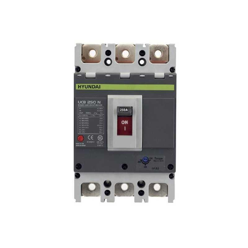 Interruptor Automático 3P Regulable 32-40A Serie-U Hyundai