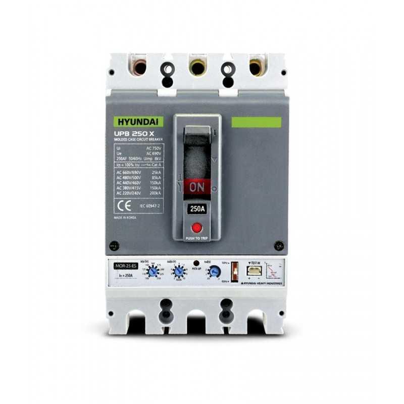Interruptor Automático 3P Regulable 12-15A Serie-U Hyundai