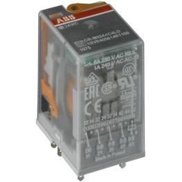 Rele Interfaz Cr-M230Ac3 230Vac Enchufable 250/10A Abb