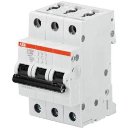 Interruptor Automatico 3P 6A Z 15Ka S200M