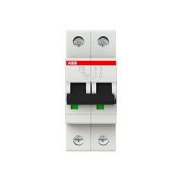 Interruptor Automatico S200 2P 20A Curva D 6.000/10Ka
