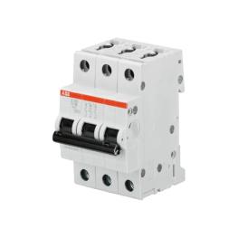 Interruptor Automatico S200 3P 2A Curva D 6.000/10Ka
