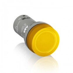 Piloto Amarillo 22mm Led 24Vac Cl-502