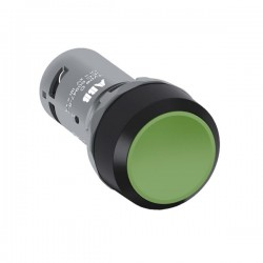 Pulsador Saliente 22mm Verde 1Na+1Nc Cp1-10G-11