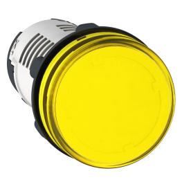 Piloto Amarillo 22mm LED 110Vac