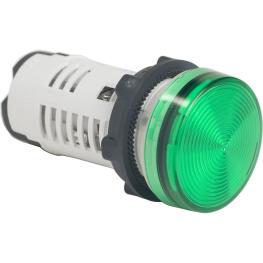 Piloto Verde 22mm LED 110Vca