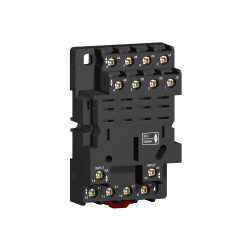 Base para Rele Enchufable 14 Pines 4Na+4Nc - Schneider-Electric