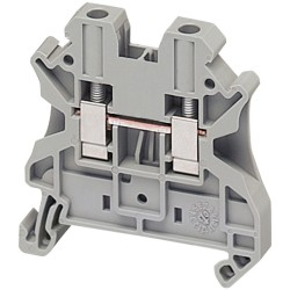Borne Estandar 4mm Gris  Tipo Tornillo - Schneider-Electric