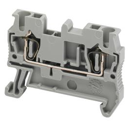 Borne Libre Mantencion 2,5mm Gris - Schneider-Electric