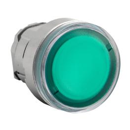 Cabezal para Pulsador Rasante Verde 22mm - Schneider-Electric