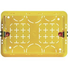 Caja Embutida PVC para Tabique 3 Modulos Amarillo - Bticino