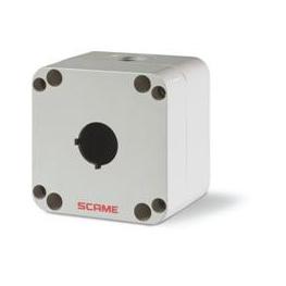 Caja IP66 Polimero 1 Puesto 22mm Serie Top22 - Scame