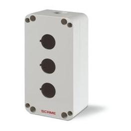 Caja IP66 Polimero 3 Puesto 22mm Serie Top22 - Scame