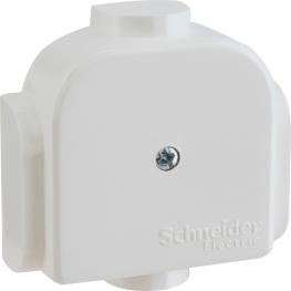 Caja Plastica Redonda 6 Salidas - Schneider-Electric