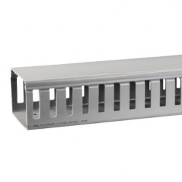 Canaleta PVC 25x40x2000mm Gris Ranurada PVC - Schneider-Electric