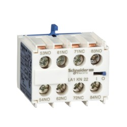 Contacto Auxiliar Frontal 2Na+2Nc  Ex.25421 - Schneider-Electric