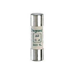 Fusible Cilindrico 4A 500Vac 100kA 14x51mm Lento - Legrand