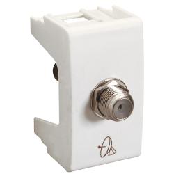 Modulo F Tv-Cable Blanco Habitat 21 - Schneider-Electric