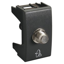Modulo Toma Caxial H21 Noir - Schneider-Electric