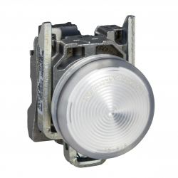 Piloto Blanca 22mm Led 220Vac - Schneider-Electric