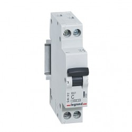 Interruptor Automatico 1P 40A C 10kA Dx6 - Legrand