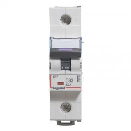 Interruptor Automatico 1P 63A C 50kA Dx3  230/400Vac - Legrand