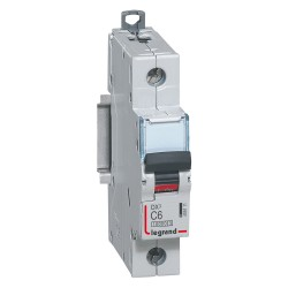 Interruptor Automatico 1P+N 6A C 10kA Lex³ Dx³ - Legrand