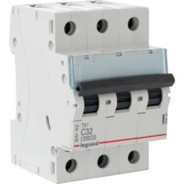 Interruptor Automatico 3P 32A C 25kA Lex³ Dpx³ - Legrand