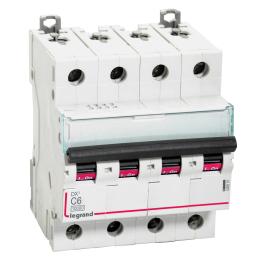 Interruptor Automatico 3P 6A C 10kA Dx6 - Legrand