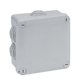 Caja Plastica 105x105x55mm Plexo con 7 Conos - Legrand