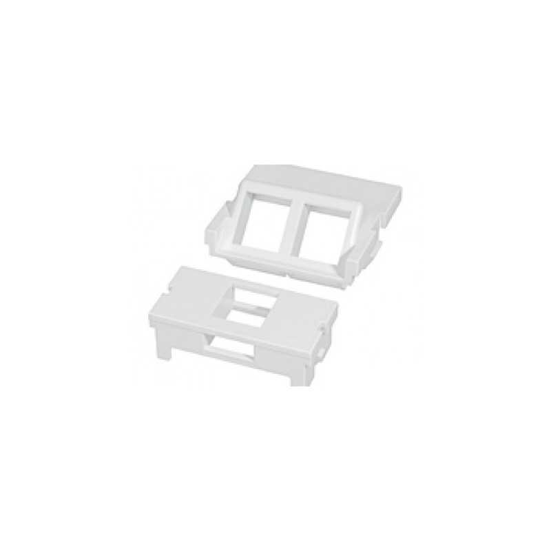 Adaptador 1P Para Faceplate Magic - Blanco (100 Piezas) Furukawa