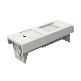 Adaptador De Faceplate Europeo 45x22.5mm Blanco - Furukawa