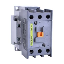 Contactor 3P 12A 7.5Hp 5.5Kw 1Na 110Vdc Hyundai