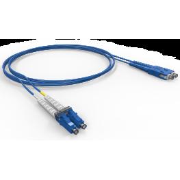 Cordon Duplex conectorizado OM3 Lc-Upc/Sc-Upc 2.5M - LSZH - Acqua – Furukawa
