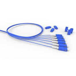 Extension Optica conectorizada 06F Sm Lc-Apc 1.5M - Cog - Amarillo - Furukawa