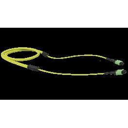 Fibra conectorizada Sm Mpo-Apc 300M LSZH - Amarillo - Furukawa