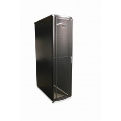 Gabinete 600Mm, 1200 Mm, Frontal Simple, Trasera Doble 45Urack, Negro - Siemon