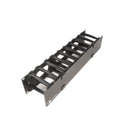 Ordenador de Cable  Ordenador Frontal Horizontal  de 1 U - Siemon
